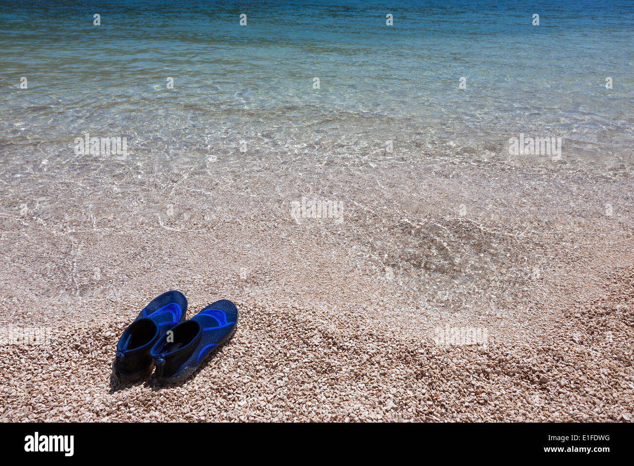 91b13fcdc Swimming Shoes Stock Photos   Swimming Shoes Stock Images - Alamy