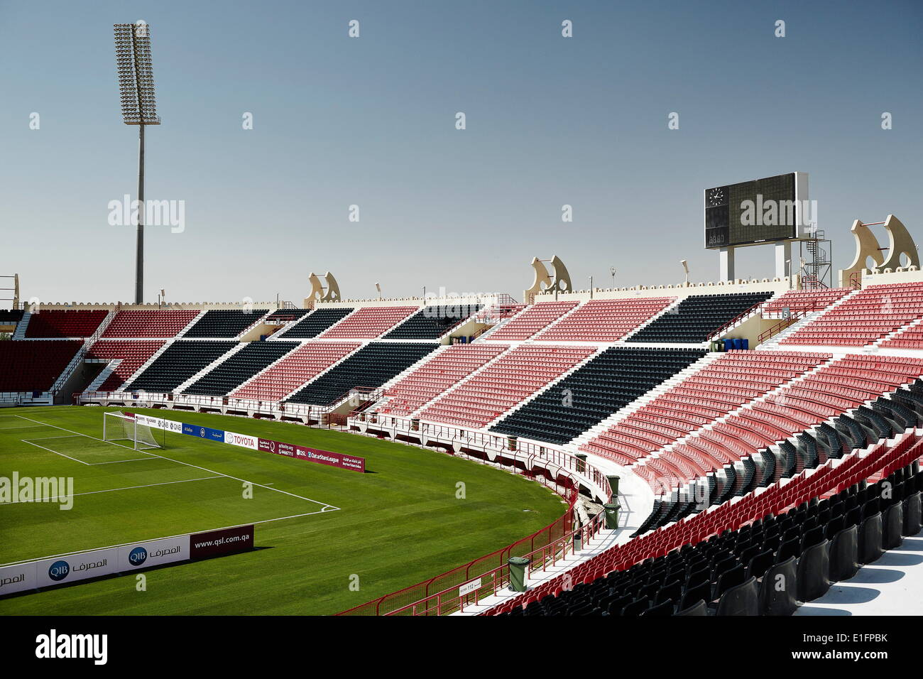 The Al-Rayyan stadium in Doha, one of the proposed stadiums for the 2022 World Cup, Doha, Qatar, Middle East Stock Photo