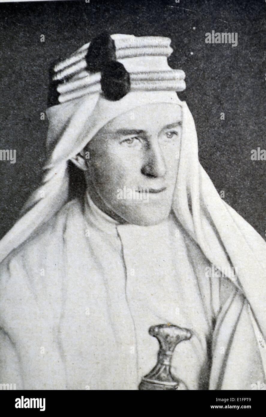 Thomas Edward Lawrence - Stock Image