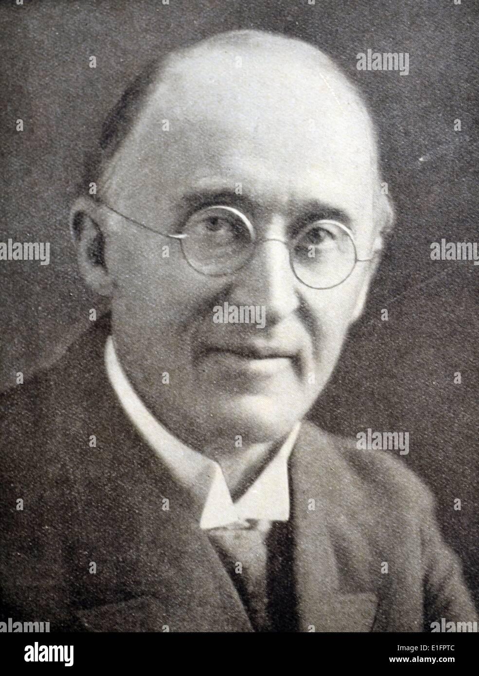 Photograpgh of Frederick Theodore Albert Delius - Stock Image