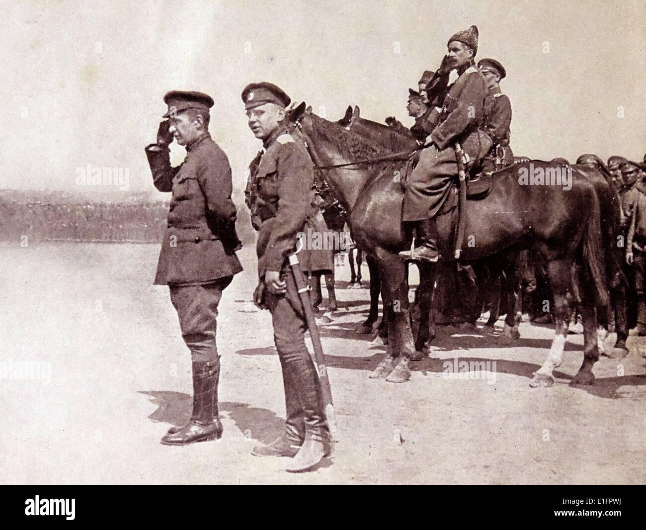 Minister of War, Alexander Kerensky - Stock Image
