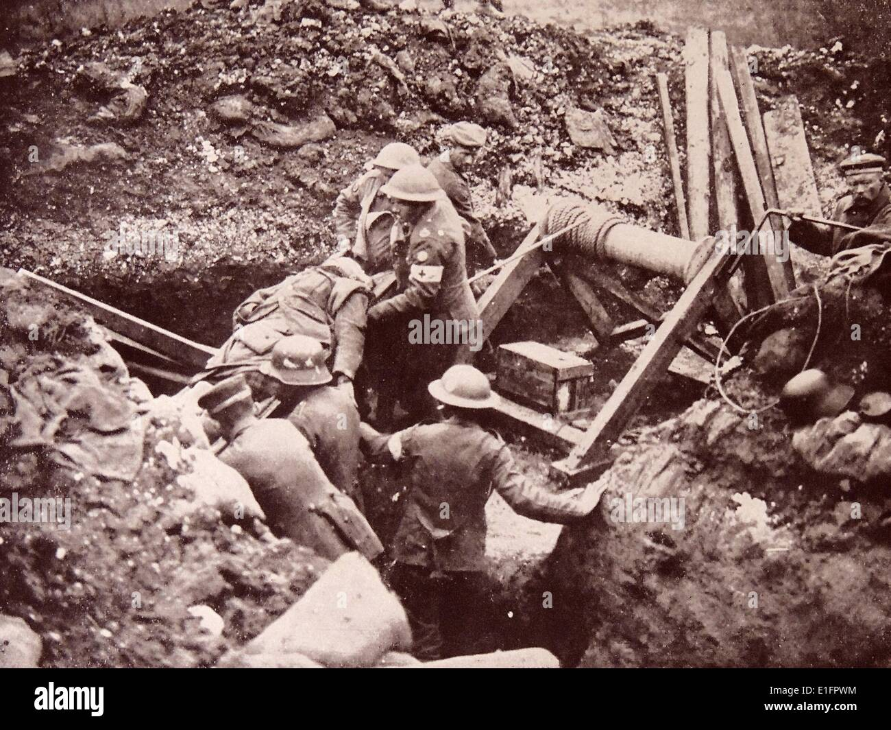 The Battle of Cambrai - Stock Image