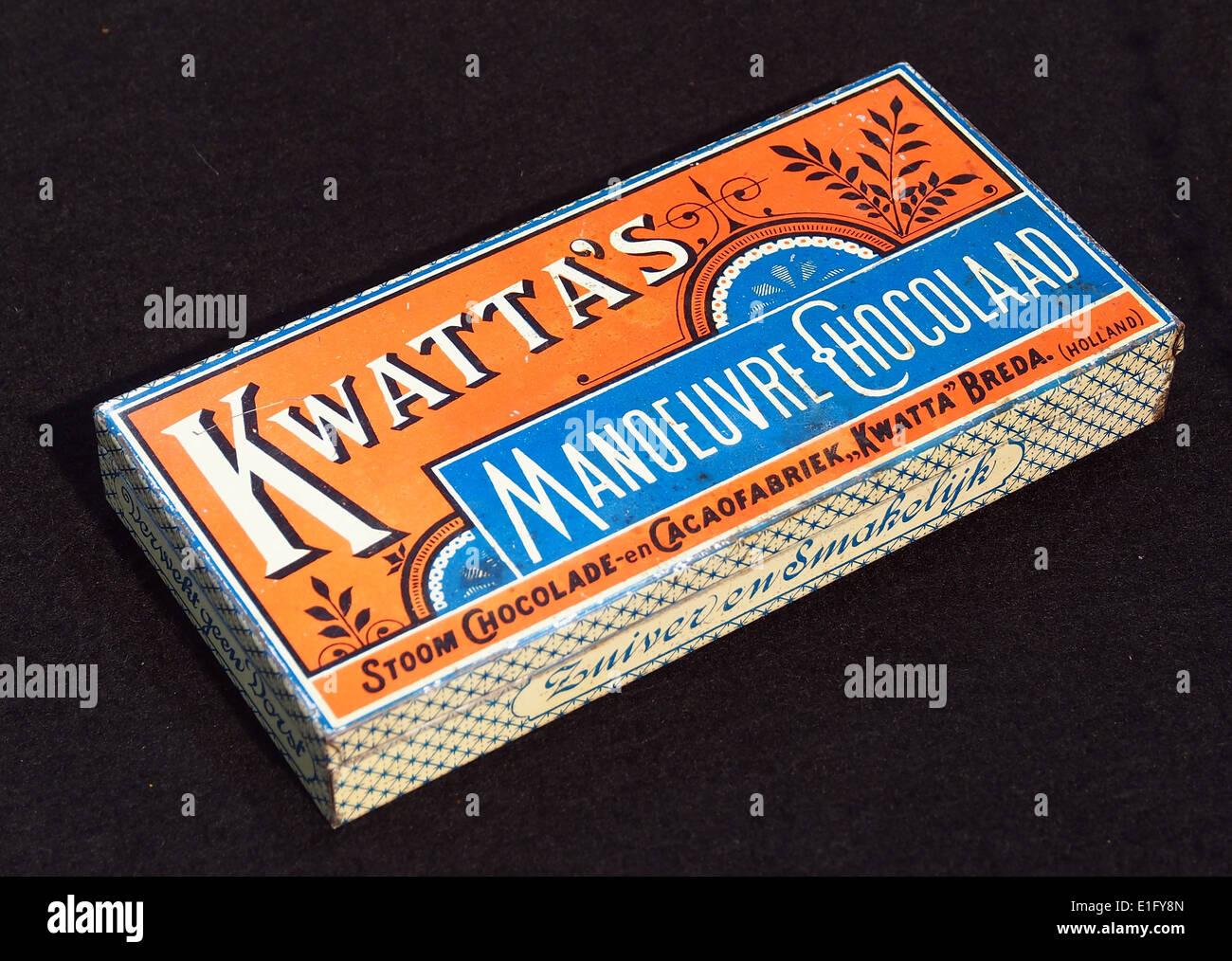 Kwattas Manoeuvre Chocolaad blik, foto6 - Stock Image