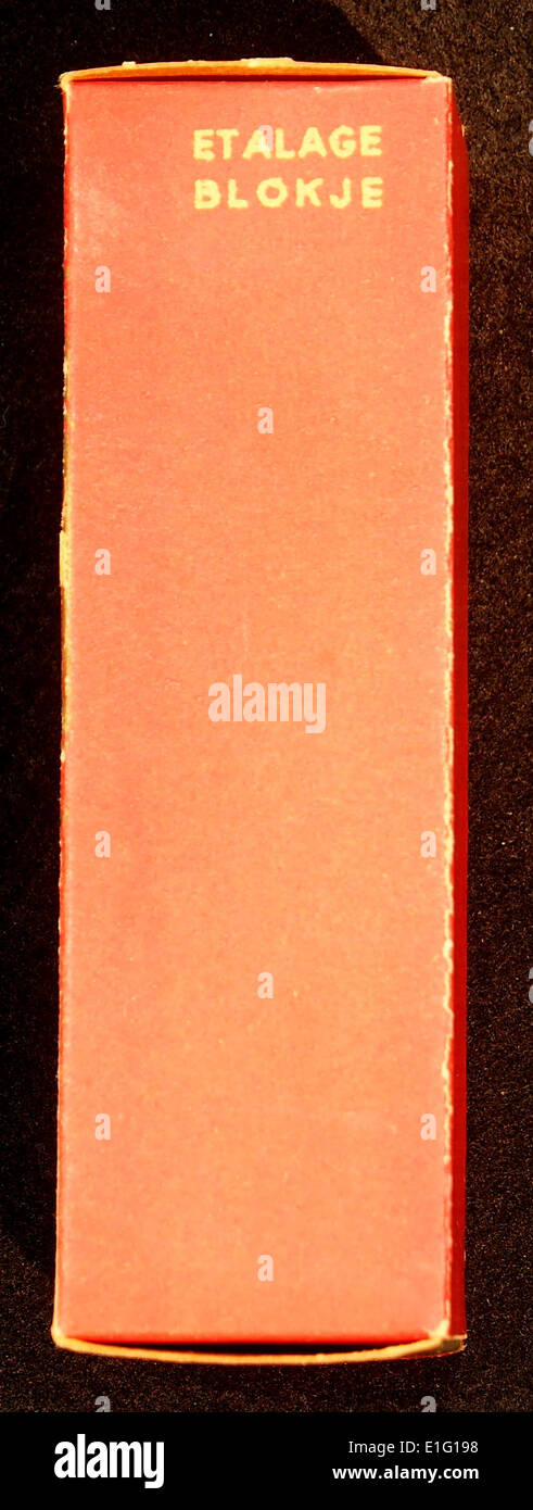 Van Nelles Afternoon Gebroken Thee reclame verpakking, foto2 - Stock Image