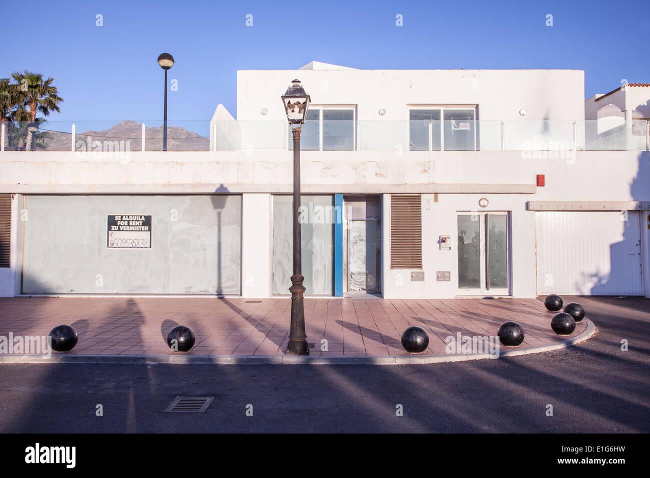 Spanish property for sale uninhabited - Stock Image