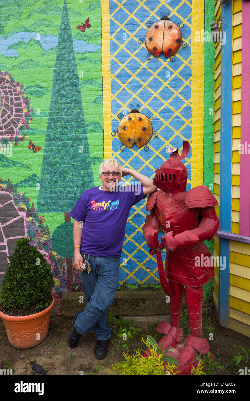 Randyland in Pittsburgh PA Stock Photo