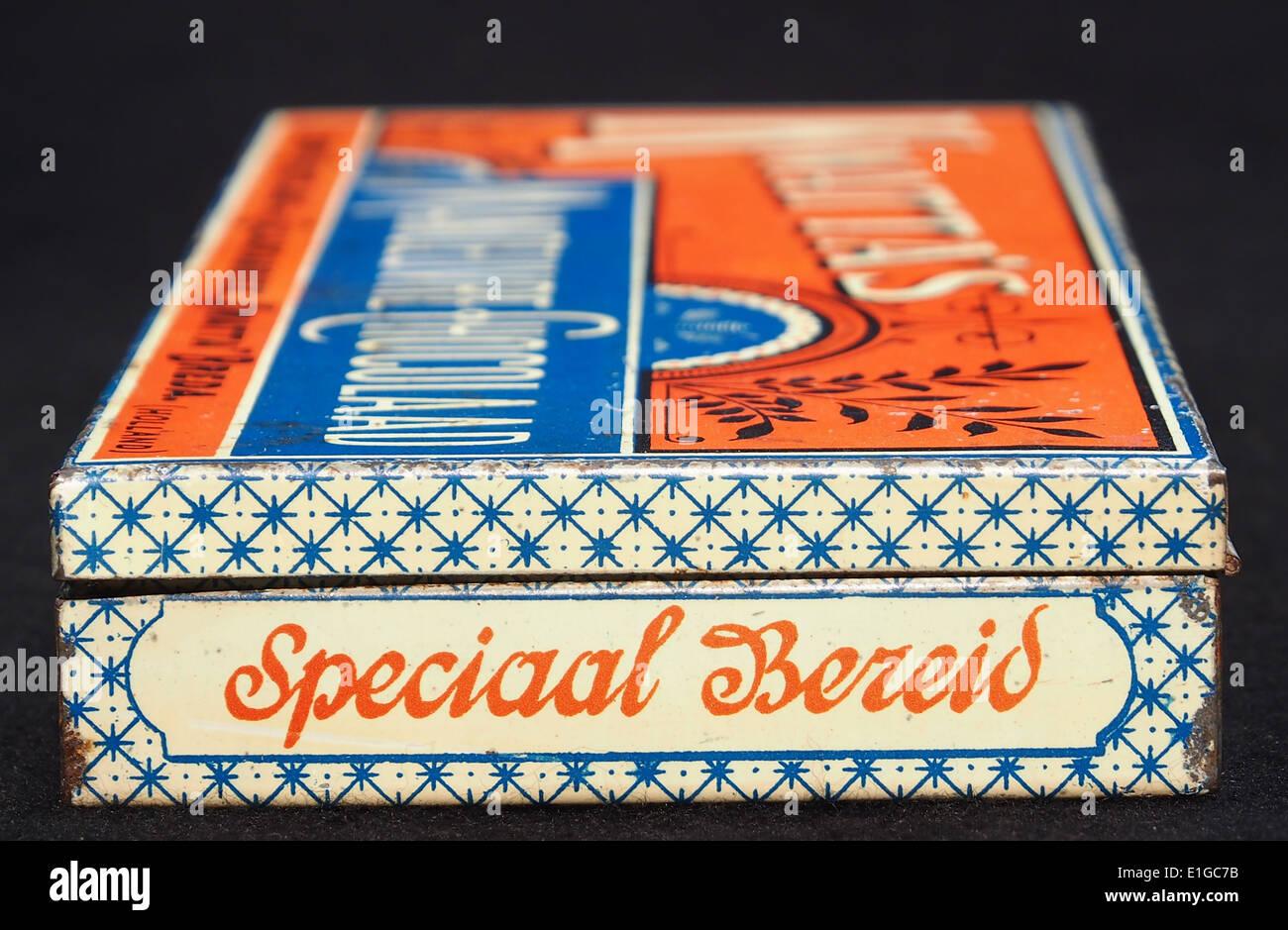 Kwattas Manoeuvre Chocolaad blik, foto3 - Stock Image
