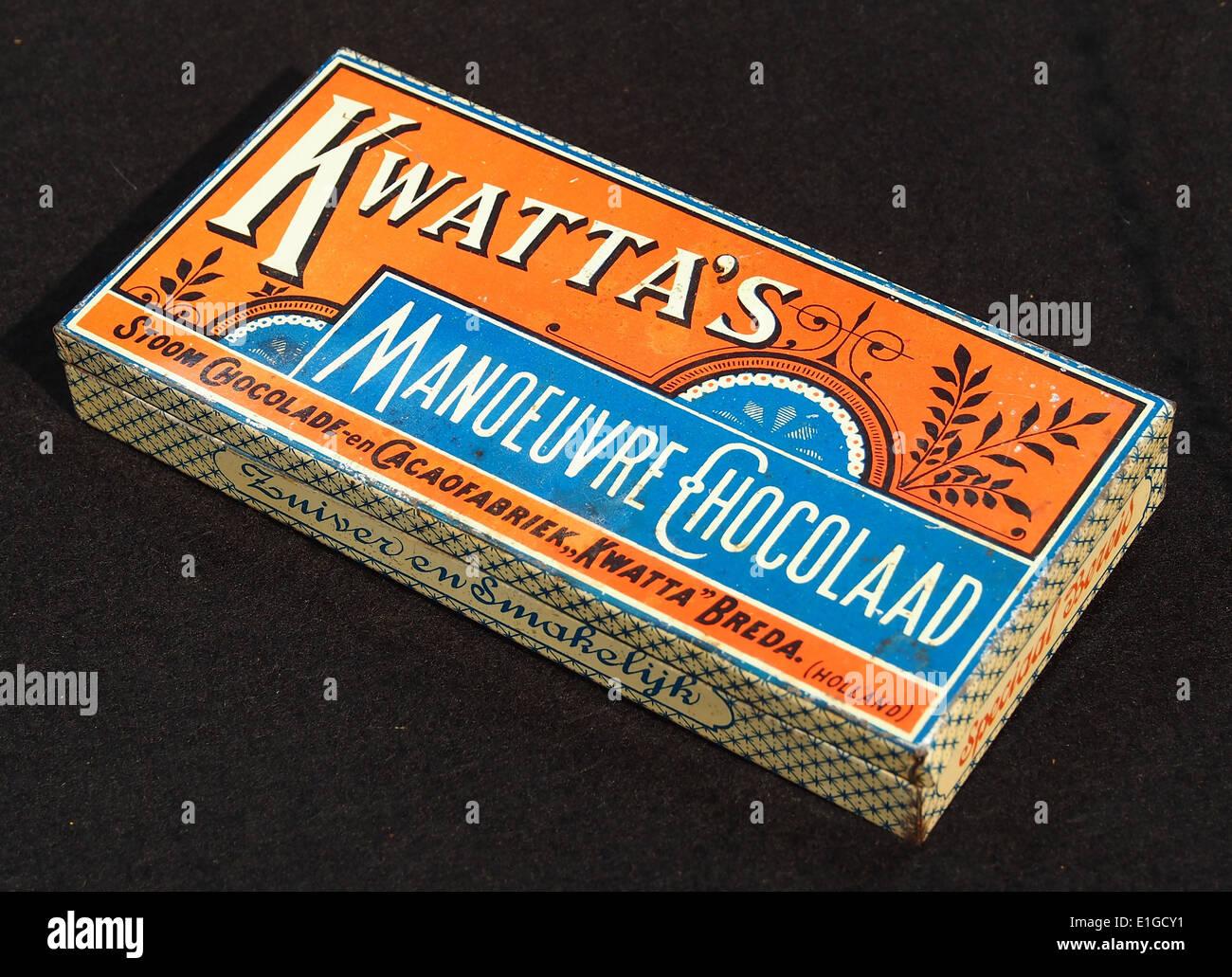 Kwattas Manoeuvre Chocolaad blik, foto7 - Stock Image