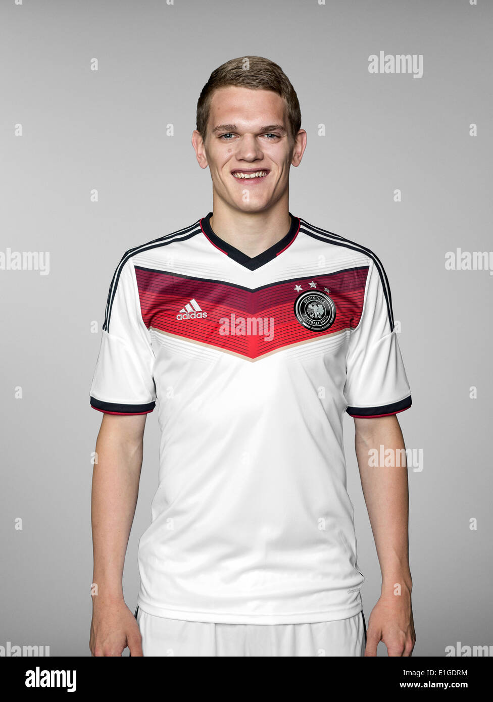 FIFA World Cup 2014 - photocall Team Germany, 24 May 2014 in Passeier, Italy: Matthias Ginter. Photo credit: Bongarts/Getty Images/German Football Association/dpa (editorial use only) - Stock Image