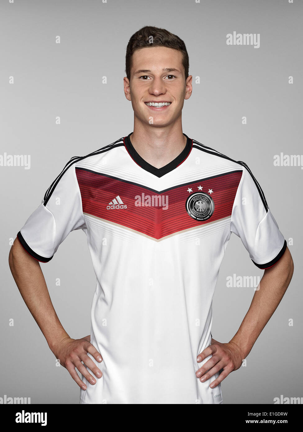 FIFA World Cup 2014 - photocall Team Germany, 24 May 2014 in Passeier, Italy: Julian Draxler. Photo credit: Bongarts/Getty Images/German Football Association/dpa (editorial use only) - Stock Image