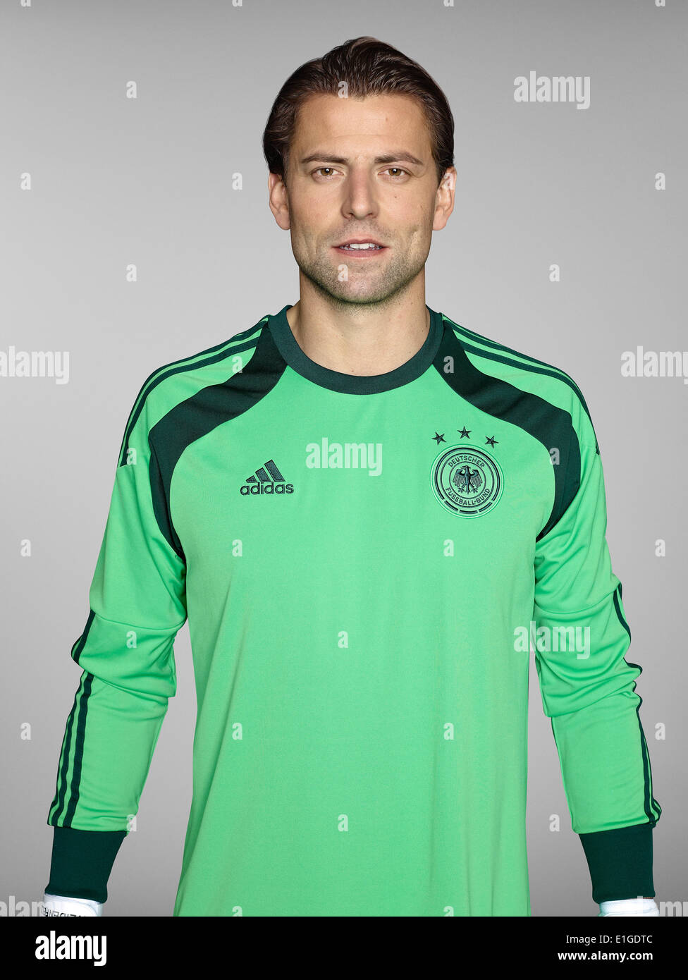 FIFA World Cup 2014 - photocall Team Germany, 24 May 2014 in Passeier, Italy: Roman Weidenfeller. Photo credit: Bongarts/Getty Images/German Football Association/dpa (editorial use only) - Stock Image