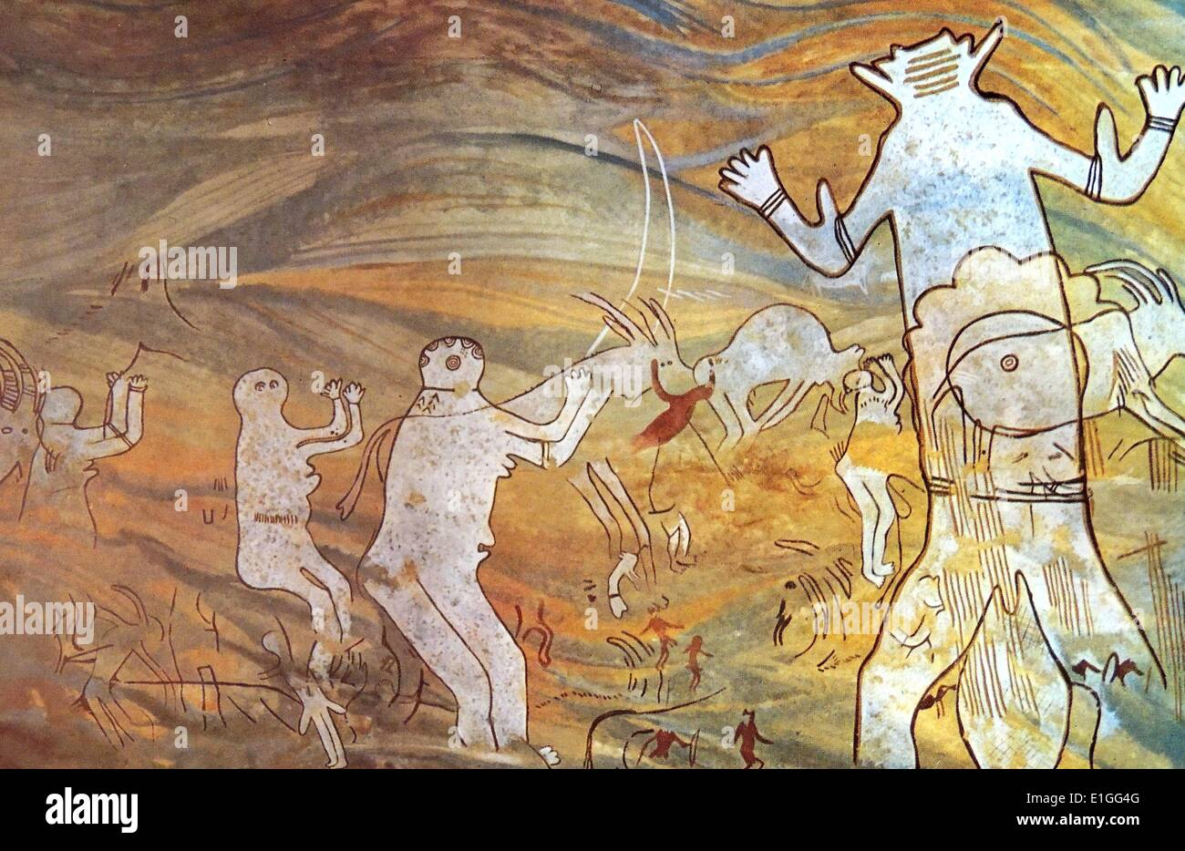 The Great God of Sefar - Stock Image