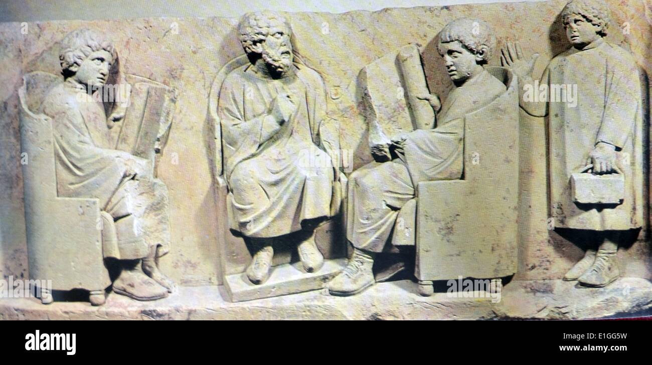 The Roman School - Stock Image