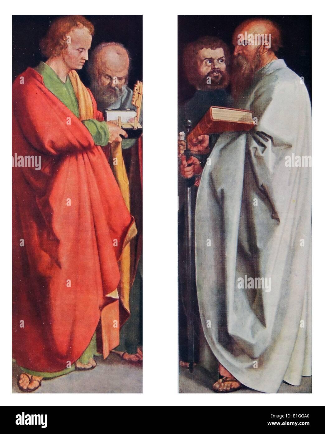 The Four Apostles - Stock Image