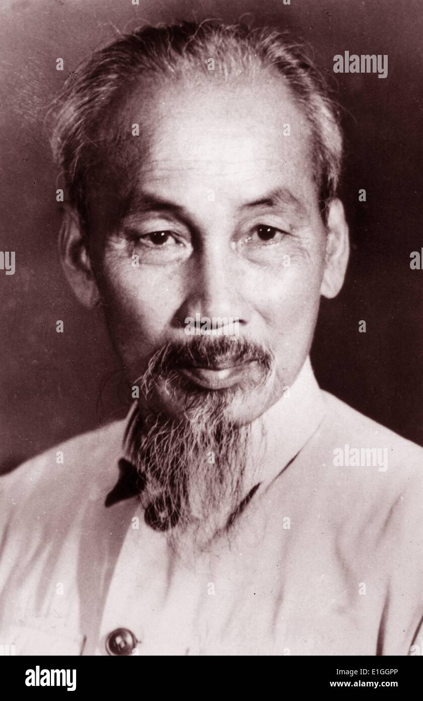 Ho Chi Minh died 1969 leader of North Vietnam - Stock Image