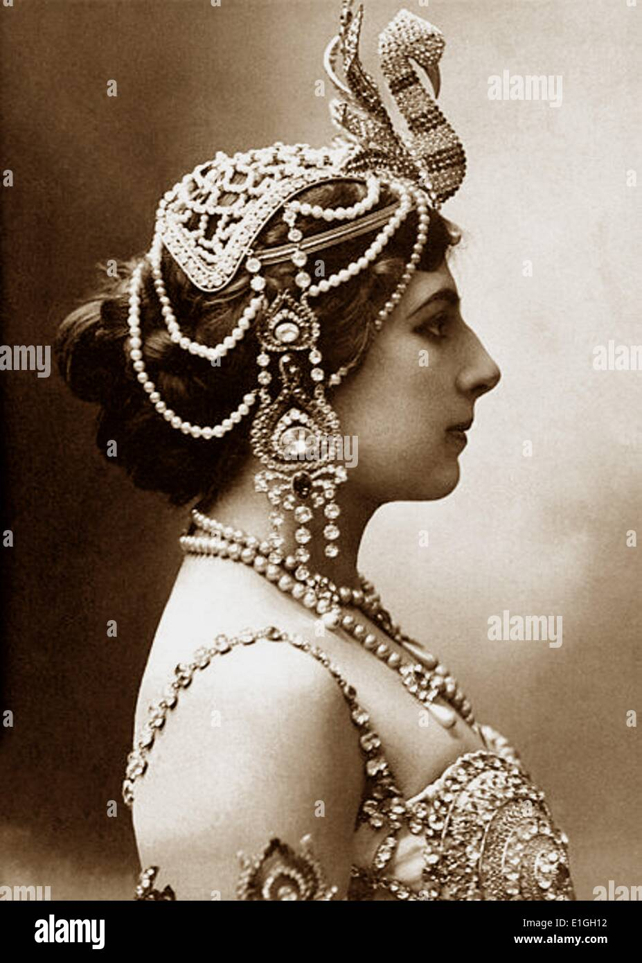 Margaretha MacLeod, better known by the stage name Mata Hari, 1876-1917 - Stock Image