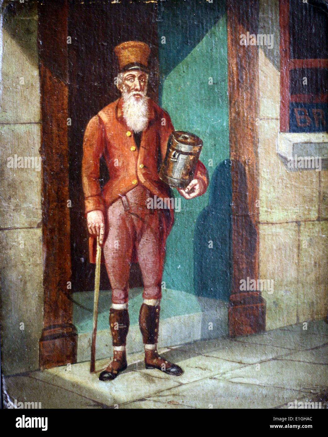 James Guidney or Jemmy the Rockman - Stock Image