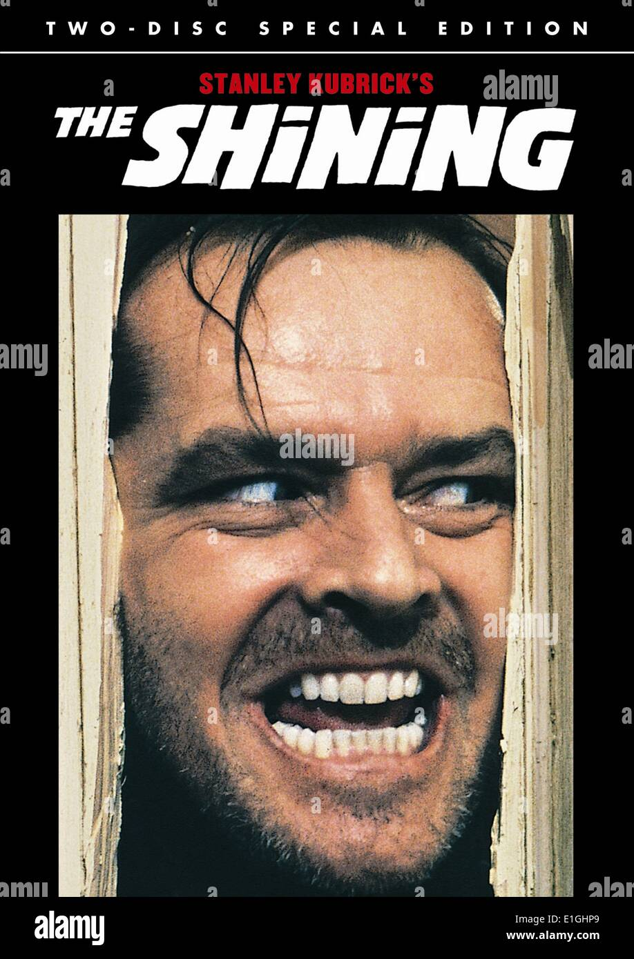 The Shining. A 1980 British-American psychological horror film - Stock Image