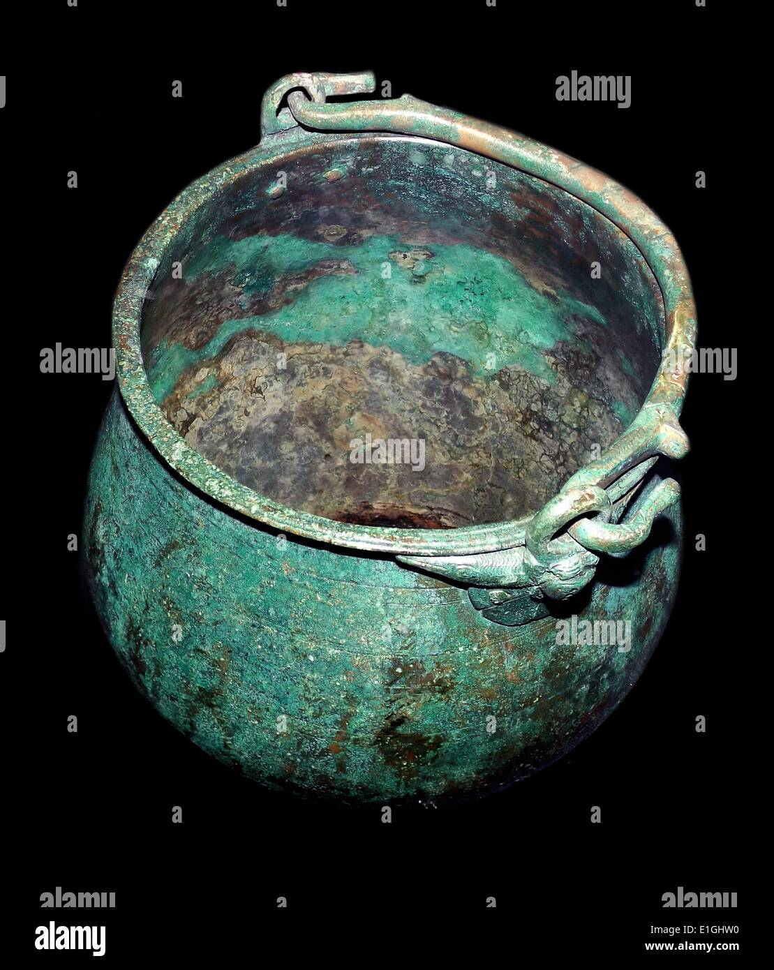 Prestige objects from the Roman Iron Age. - Stock Image
