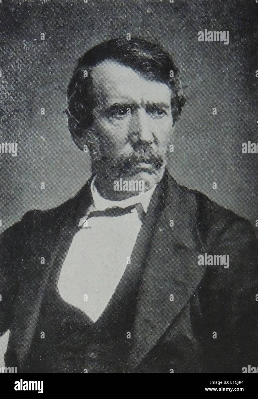 David Livingstone (19 March 1813 – 1 May 1873) was a Scottish Congregationalist pioneer medical missionary with the London - Stock Image
