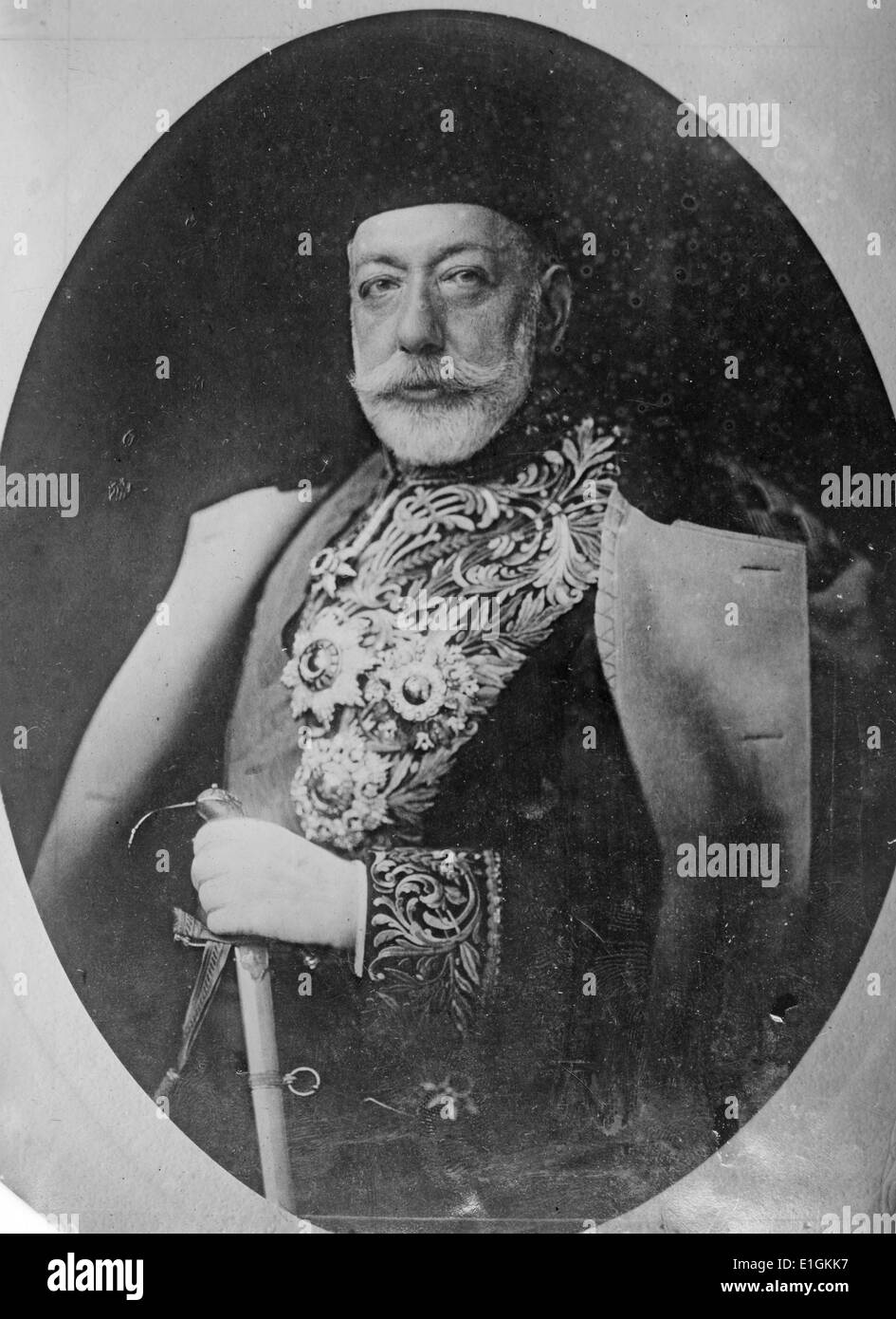 Mehmed V Reshad - Stock Image