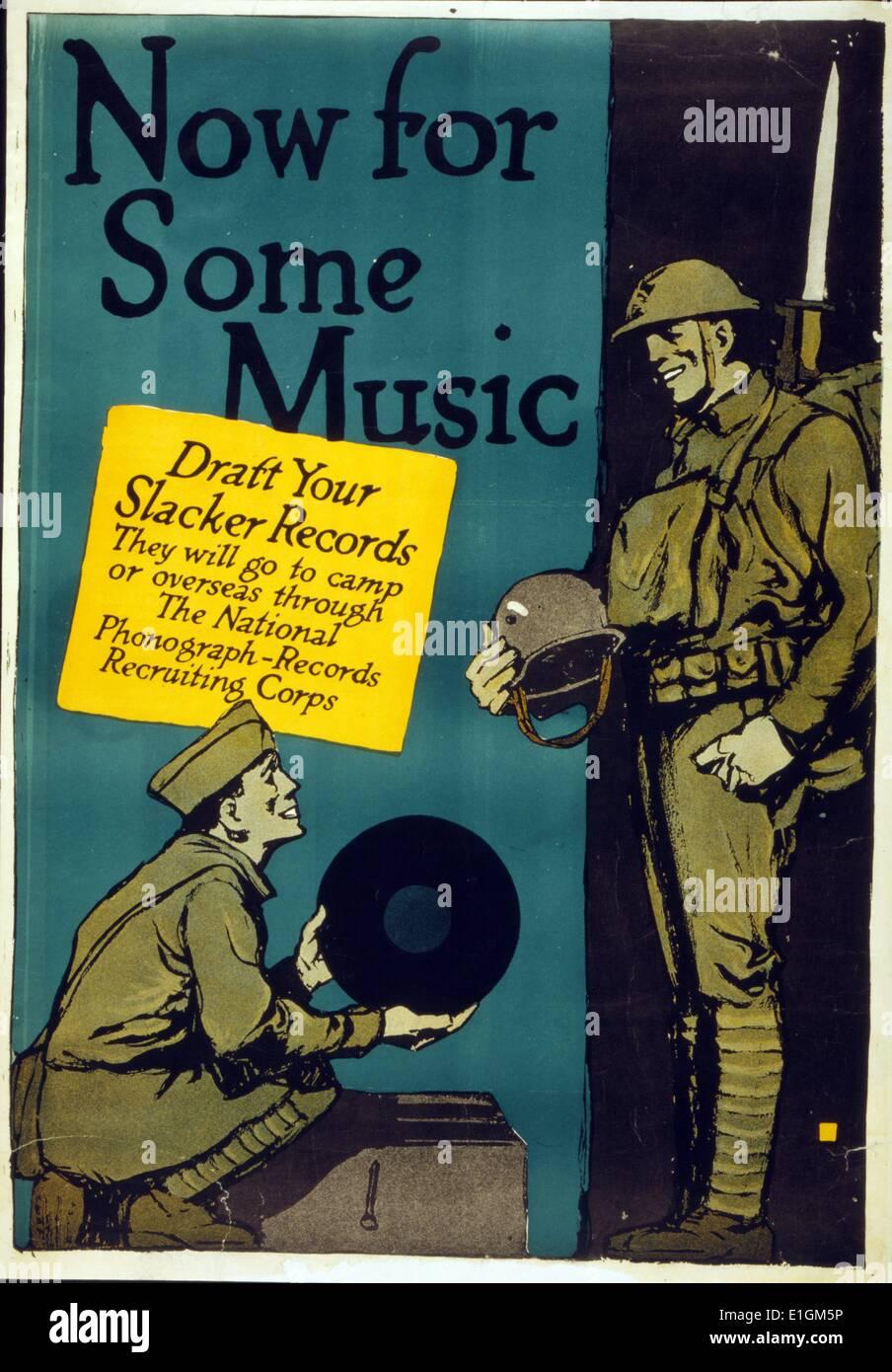 World War One Propaganda - Stock Image