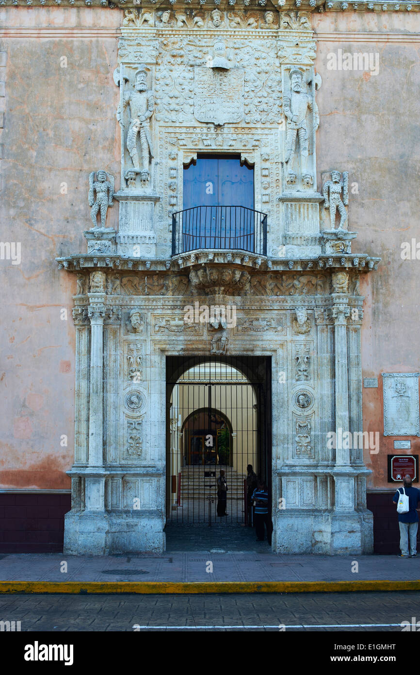Mexico, Yucatan state, Merida, the capital of Yucatan, square of independence - Stock Image