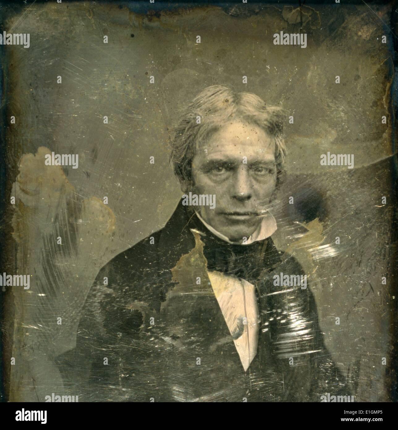 Michael Faraday - Stock Image