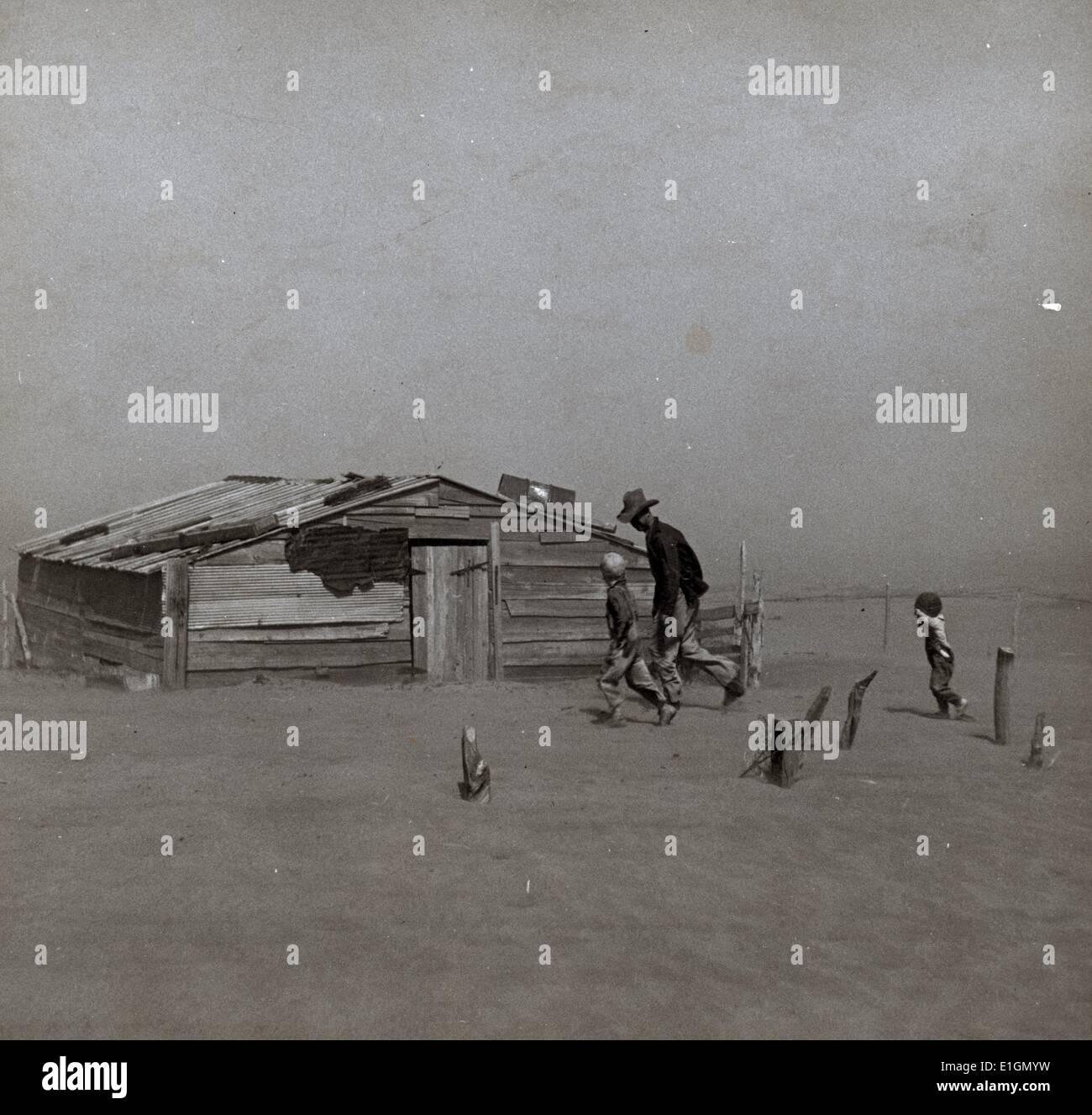 Dust Storm - Stock Image