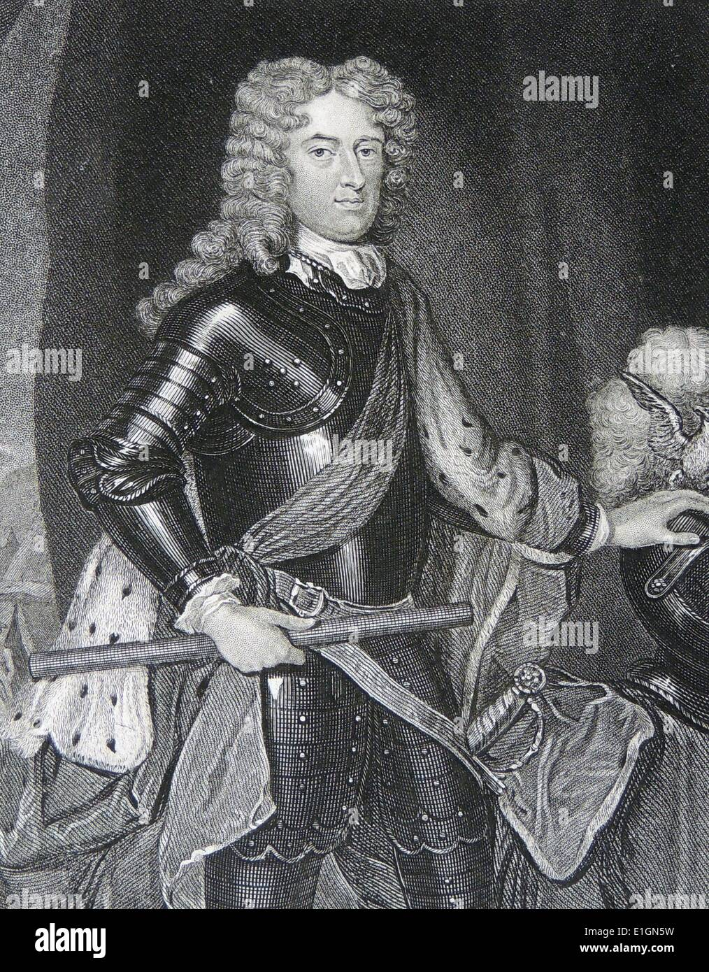 Duke of Marlborough John Churchill - Stock Image
