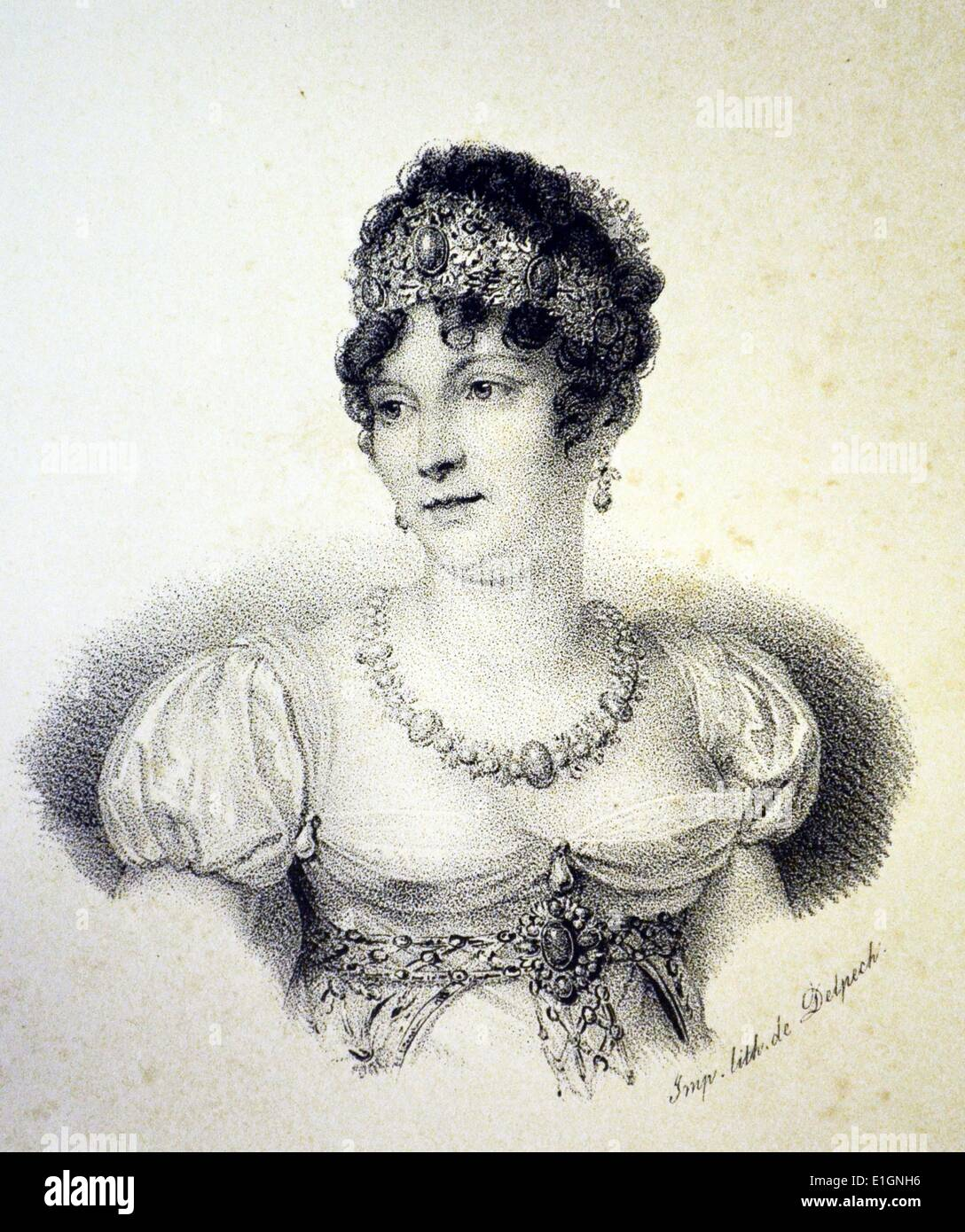 Caroline Murat - Stock Image