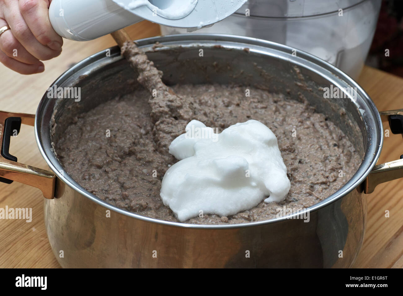 In Polish Cuisine On The Polish Table Preparation Of Liver Pate