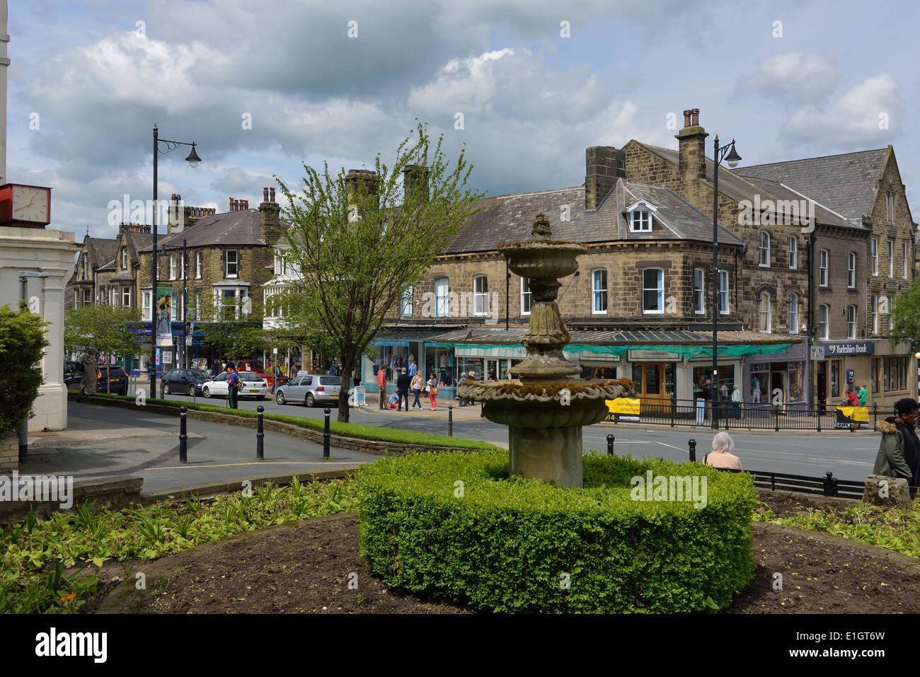 Ilkley, West Yorkshire, England, United Kingdom, Yorkshire, Europe - Stock Image