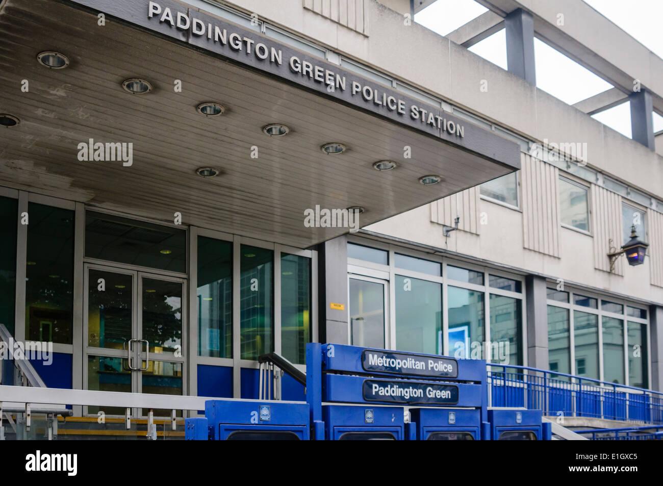 Paddington Green Metropolitan Police Station - Stock Image