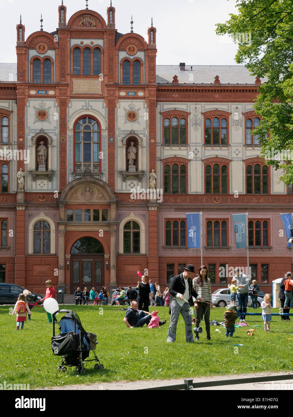 Schlampe Rostock, Hansestadt