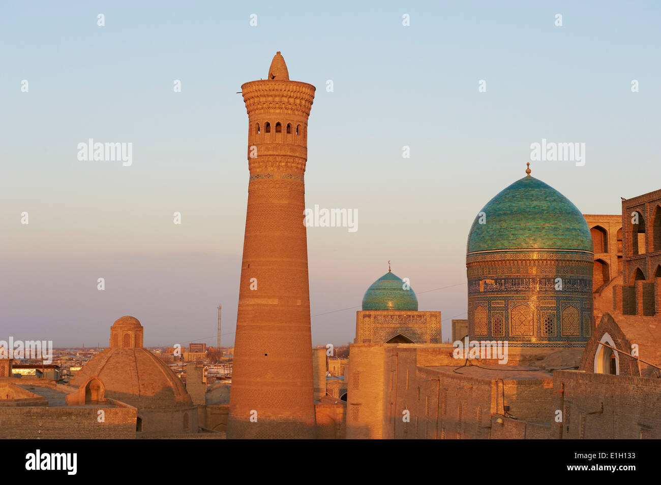 Uzbekistan, Bukhara, Unesco world heritage, Kalon mosque - Stock Image