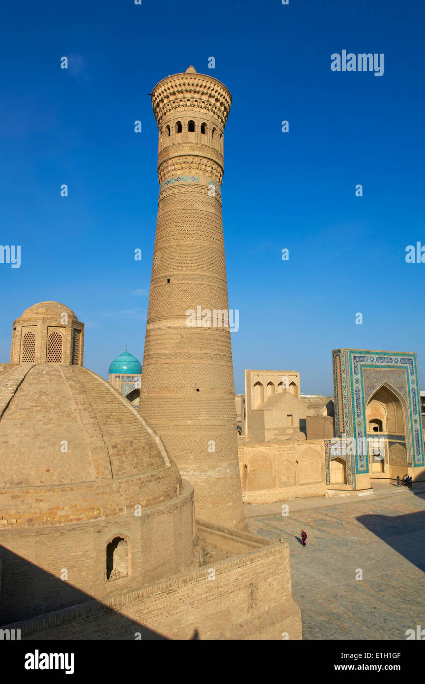 Uzbekistan, Bukhara, Unesco world heritage, Kalon mosque - Stock Image