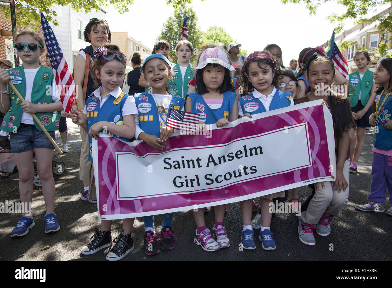 Girl Scout Troop Stock Photos & Girl Scout Troop Stock