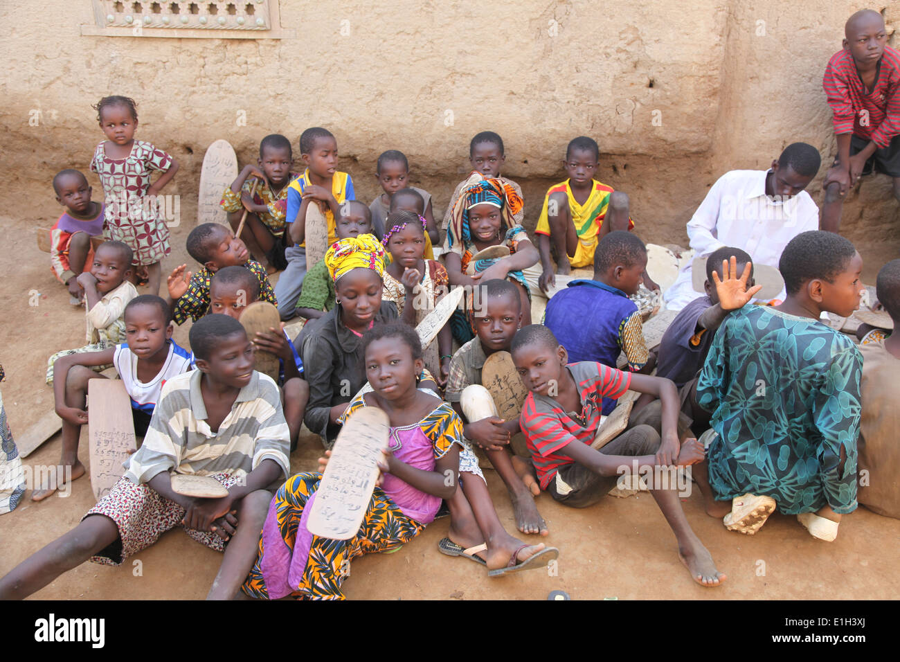Schoolchildren in Africa - Stock Image