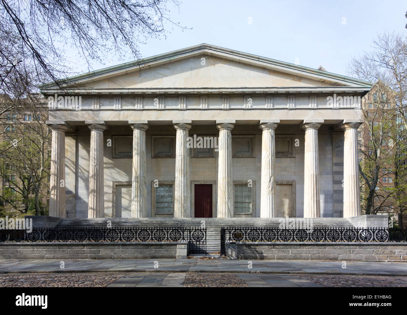 Second Bank of the United States, Philadelphia, Pennsylvania, USA - Stock Image