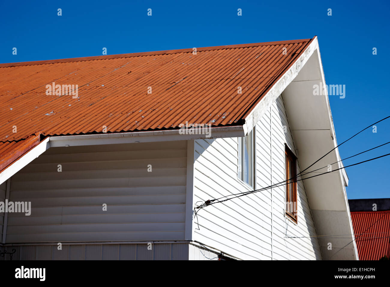 Houses With Tin Roof High Resolution Stock Photography And Images Alamy