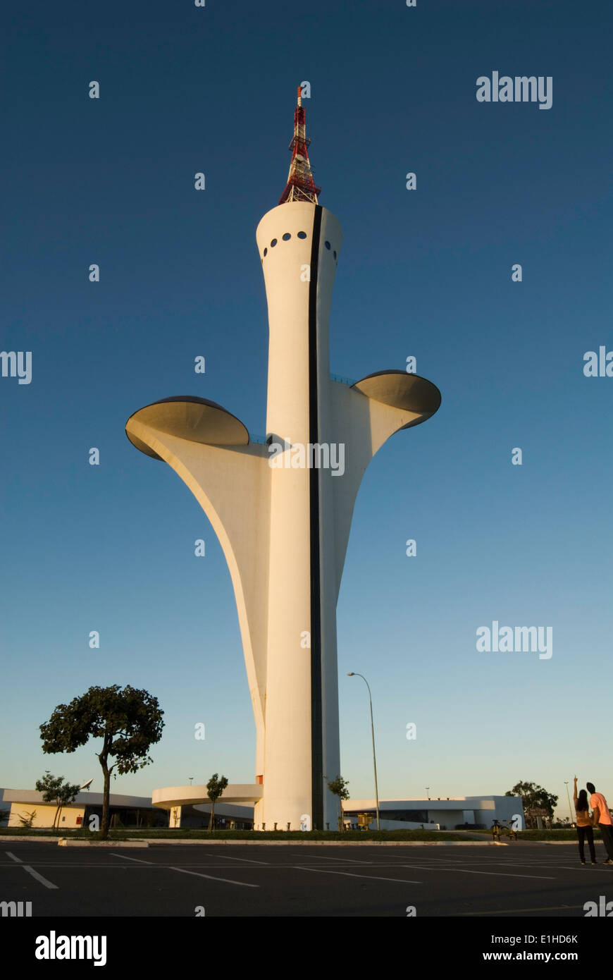 Brasilia Digital TV Tower - Stock Image