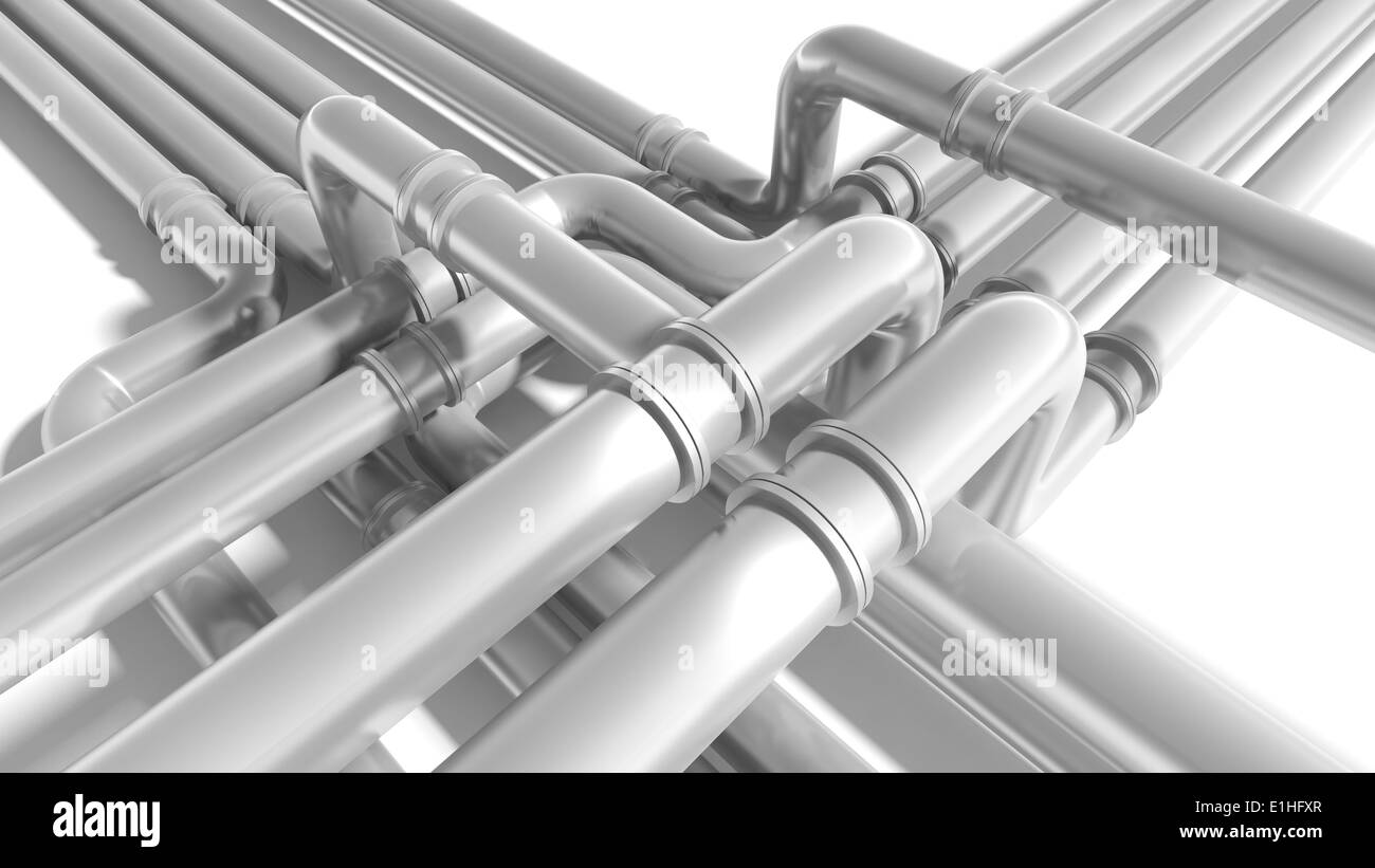 Lead Pipe Water Black and White Stock Photos & Images - Alamy