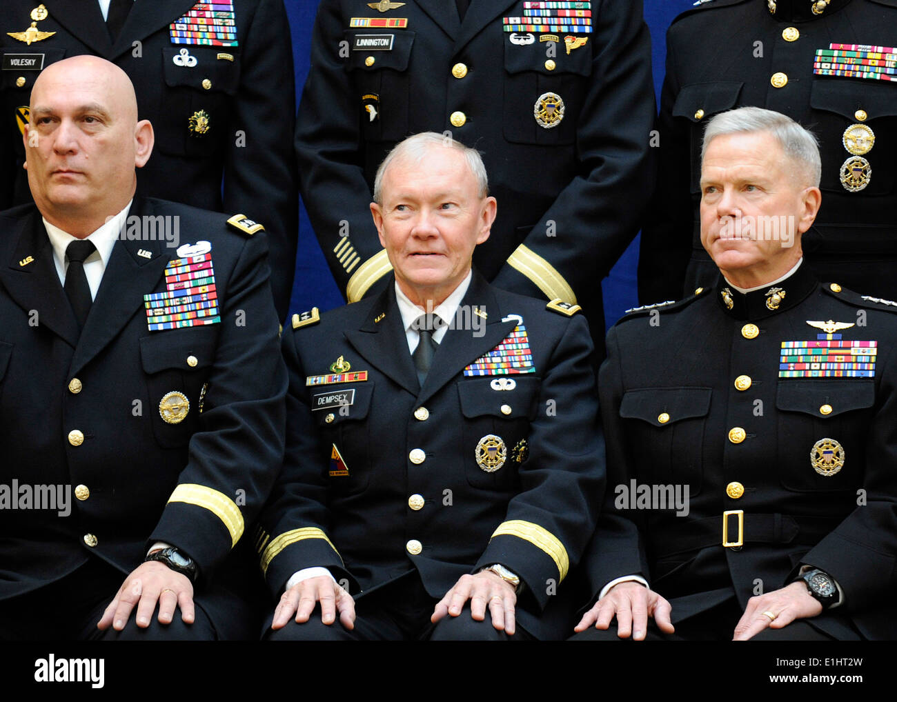From left u s army chief of staff gen raymond t for Chair joint chiefs of staff