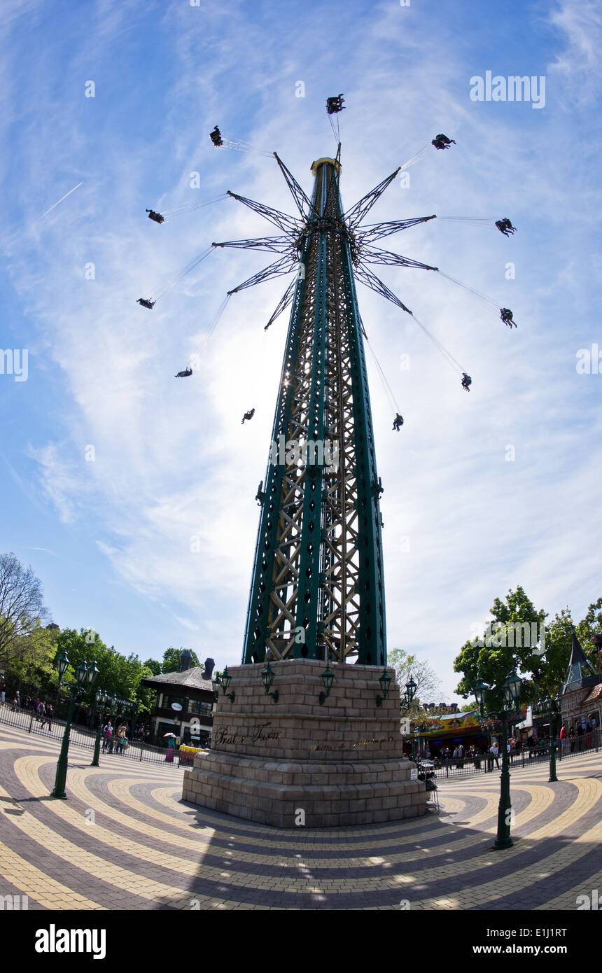 Tallest And Largest Flying Swing Carousel In The World At