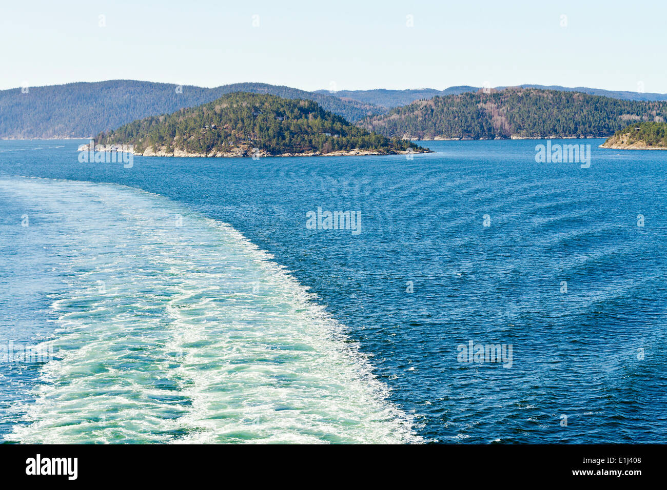 Scandinavia, Norway, Oslo, Oslofjord and coast Stock Photo