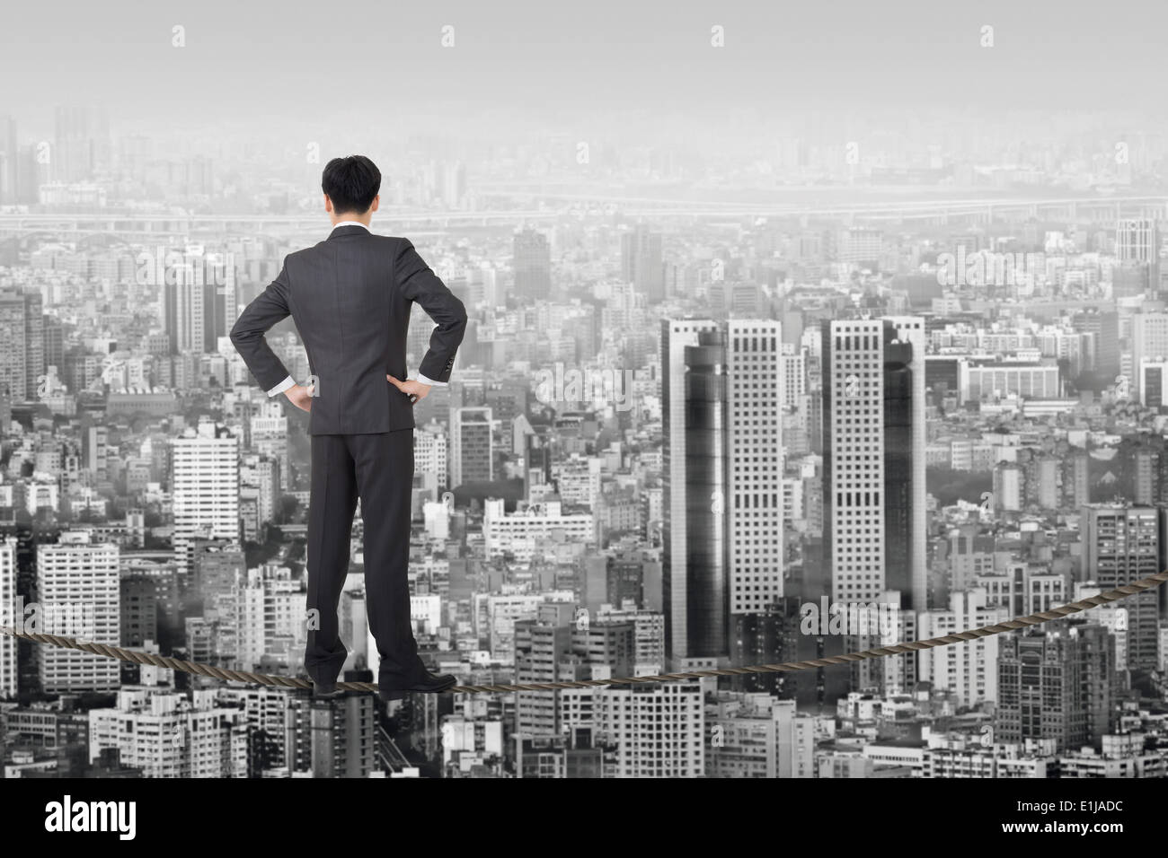 business future - Stock Image