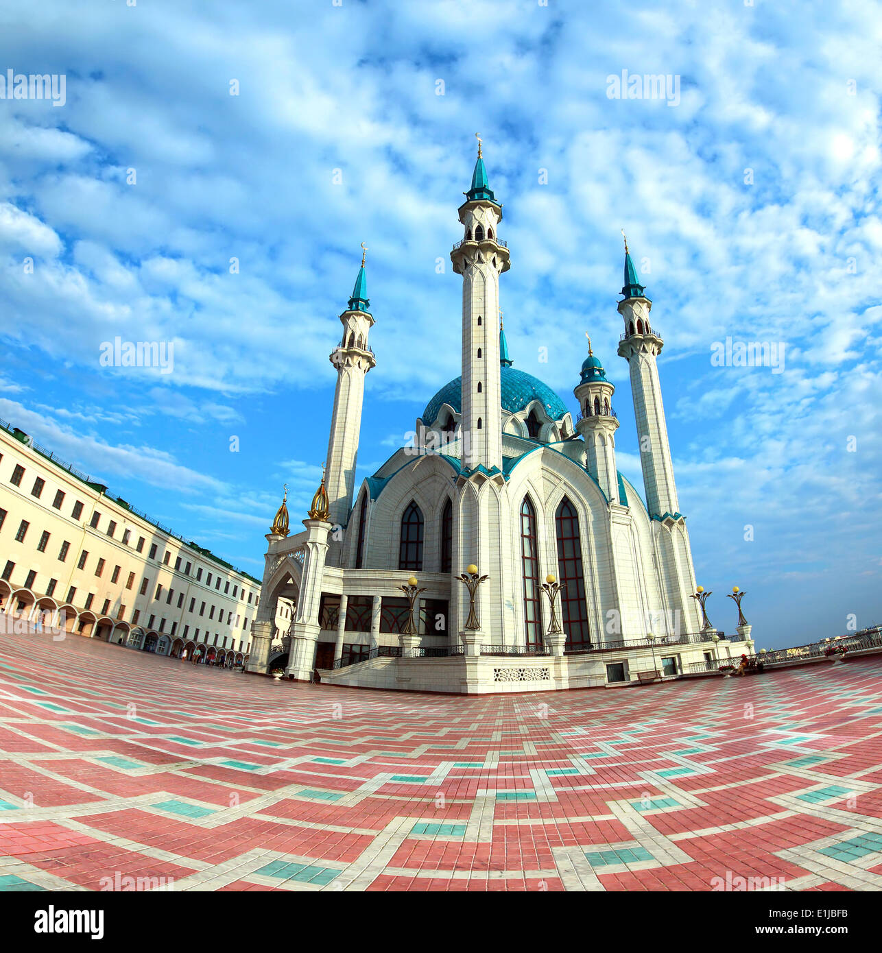 kul sharif mosque in kazan russia - Stock Image