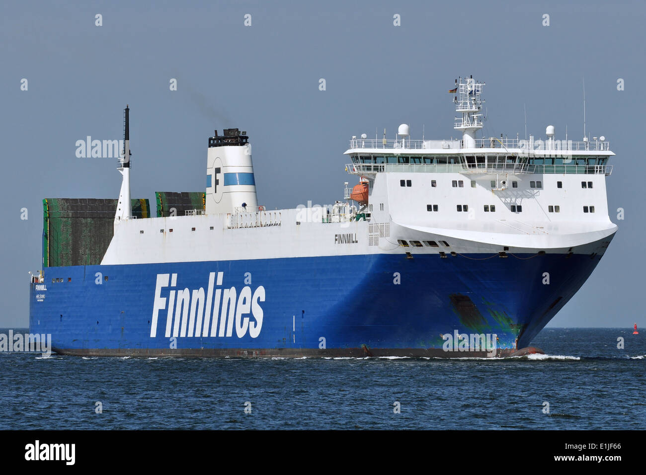 RoRo-Ferry Finnmill - Stock Image