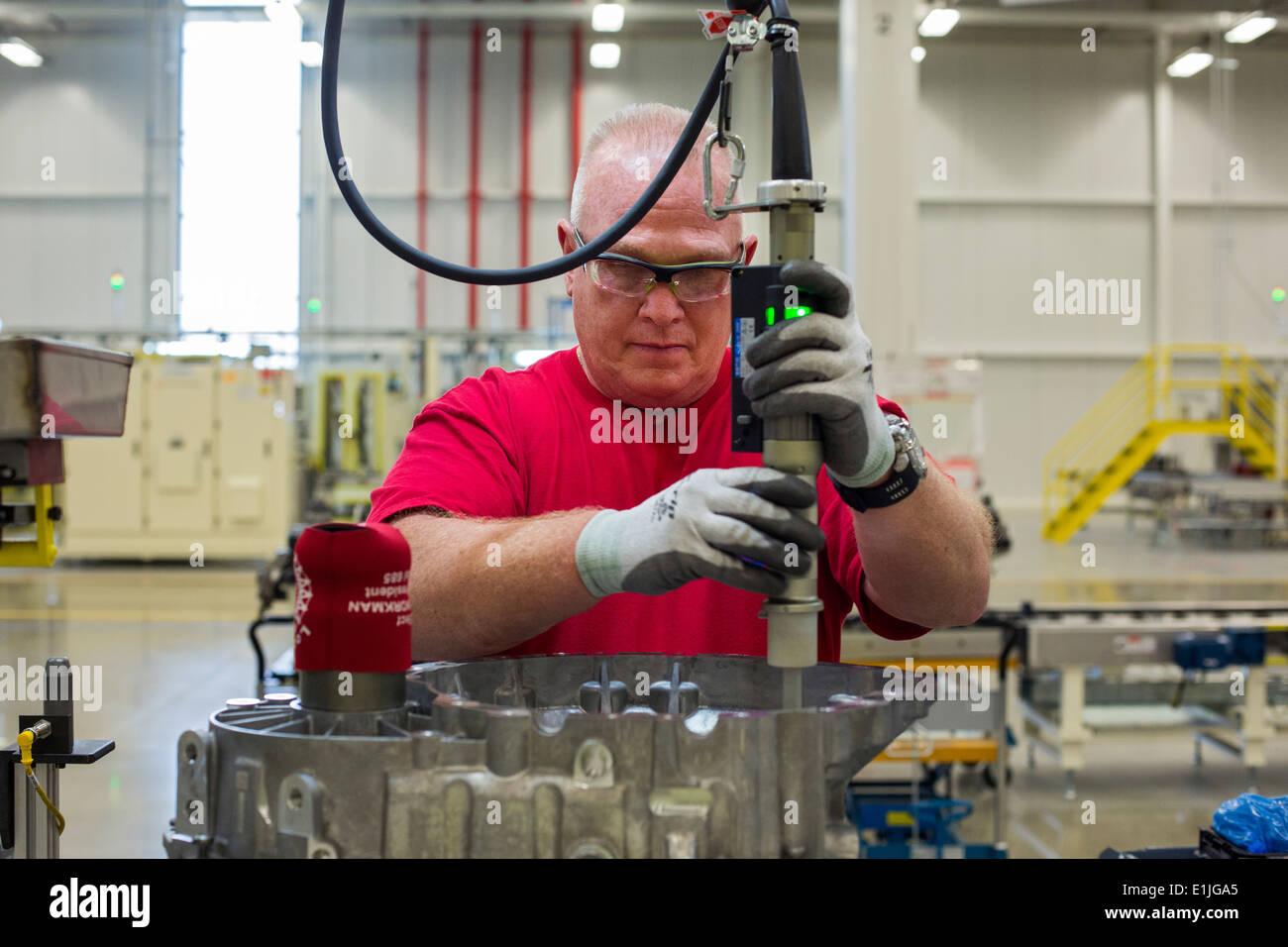 Tipton, Indiana - Workers at Chrysler's Tipton Transmission